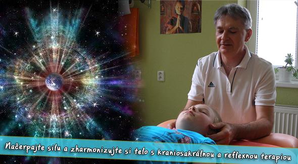 Fotka zľavy: Načerpajte energiu a zharmonizujte svoje telo pri 60 min. kraniosakrálnej terapii  alebo využite 60 min. reflexnú terapiu s komplexnou diagnostikou podľa tradičnej čínskej medicíny so 46% zľavou.