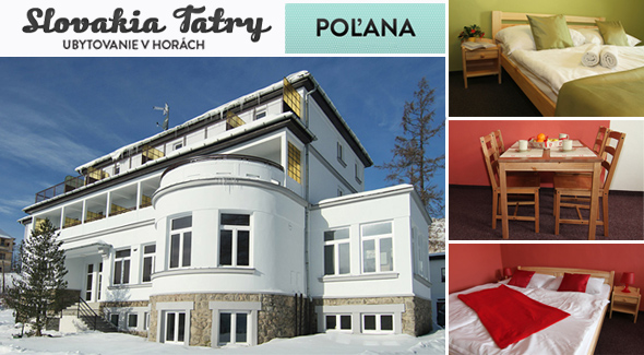 Fotka zľavy: Užite si 3 dni vo Vysokých Tatrách len za 35,50€ - pozývame vás do štýlového a komfortného Penziónu*** Poľana na Peknej Vyhliadke pri Starom Smokovci