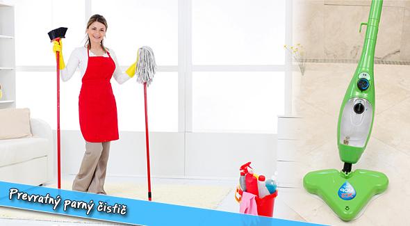 Fotka zľavy: Prevratný parný čistič: H2O mop 5 v 1 len za 58,80€ vrátane poštovného. Ľahký a šikovný pomocník do vašej domácnosti. Upratovanie bude teraz jednoduchšie a zábavnejšie. Teraz ešte lepšia cena!