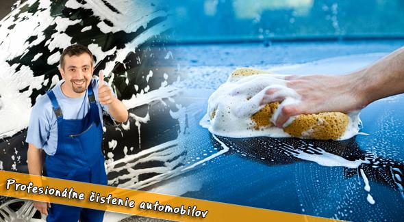 Auto-služby už od 7,60€. vyčistíme interiér, exteriér alebo