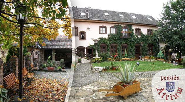 Fotka zľavy: 3 dni pre dvojicu pod Tatrami už od 49€. Penzión Atrium - víkendový romantický pobyt v renesančnom štýle. Ubytovanie, raňajky, romantická večera... Deti do 3 rokov ZADARMO!