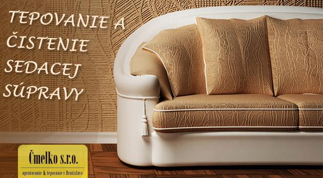 Fotka zľavy: Krása a čistota čalúnených a kožených sedačiek so zľavou až 75%! Tepovanie čalunenej 5 miestnej sedačky len za 9,90€, čistenie koženej 4 miestnej sedacej súpravy len za 25€!