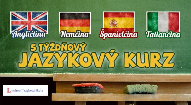 Fotka zľavy: Lákavé jazykové kurzy v Bratislave len za 26,90€. Angličtina, nemčina, španielčina a taliančina. Atraktívna ponuka v jazykovej škole L-school s maximálne 5 - 8 študentmi v jednej skupine!