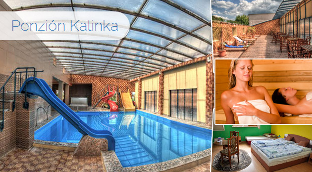 Fotka zľavy: 3 dňový pobyt s polpenziou len za 63€  v Penzióne Kalinka + neobmedzený vstup do termálnych bazénov, víriviek, sáun či fitness a zábava pri biliarde a stolnom tenise