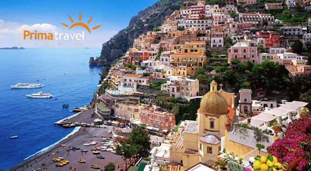 Fotka zľavy: Spoznajte jedinečný kúsok južného Talianska! 5-dňový zájazd na svetoznáme miesta len za 199 € vám dá možnosť nahliadnuť do čarovnej atmosféry Kampánie s výnimočnou kultúrou.