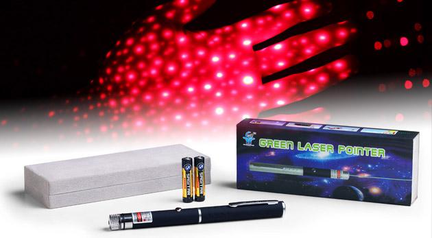 Fotka zľavy: Laserové ukazovadlo s červeným laserom v tvare pera - Laser Pointer teraz len za 4,90€. Ideálny pomocník na prezentácie, pre označovanie dôležitých bodov a informácií.