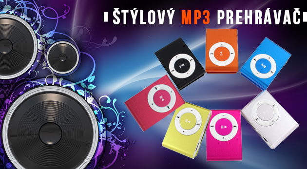 Fotka zľavy: Trendový mini MP3 prehrávač za skvelú cenu len 4,99€ pre všetkých, ktorí žijú hudbou! Kompaktný a ľahký prehrávač s jednoduchým použitím a klipsňou na upevnenie. Na výber zo 7 metalických farieb.