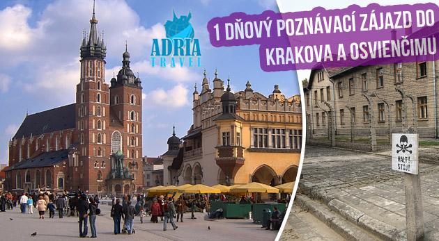 Fotka zľavy: Poznávací zájazd na 1 deň do Osvienčimu a Krakova len za 22€. Vydajte sa za tajomstvami južného Poľska a spoznajte príbehy vzdialenej i nedávnej histórie. Zľava až 50%.