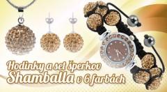 Zľava 68%: Zvýraznite svoju krásu trblietavými šperkami Shamballa s českými krištáľmi len za 9,50 €. Vyberte si náušnice, retiazku s príveskom a hodinky v jednej zo 6 elegantných farieb!
