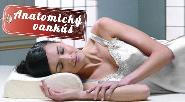 Fotka zľavy: Anatomický vankúš Memory Pillow len za 9,80€! Kvalitný materiál pre zamedzenie bolesti krku a chrbtice a bezstarostný spánok.