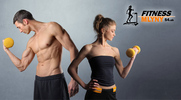 Fotka zľavy: Cvičenie vo fitness centre 7 dní v týždni - jednorazový vstup alebo permanentka na 10 vstupov už od 2,30€! Vylepšite si náladu a vytvarujte si telo cvičením v modernom fitness za polovičnú cenu!