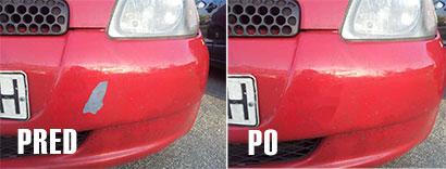Oprava prahu na aute