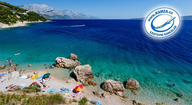 Fotka zľavy: Makarská riviéra, letovisko Podaca a apartmány Vila Ruža*** priamo pri mori na 8 alebo 11 dní už od 59€! Relaxujte za zvukov mora a vĺn priamo pri mori!