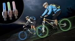 Zľava 64%: LED svetlo na bicykel alebo motorku len za 4,50€. Získajte neprehliadnuteľný farebný efekt kolies a viac zábavy na vašich cestách.