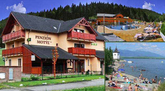 Fotka zľavy: Letný oddych pre dvoch na 3 dni len za 84€ v Penzióne Motýľ. Polpenzia, zľavy na vstupné do Bešeňovej a kúpeľov Lúčky. Relaxujte s výhľadom na Tatry!