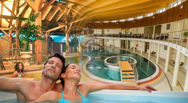Fotka zľavy: 4 alebo 8-dňový pobyt pre 2 osoby v Drevenici - Zrube v Podhájskej už od 65€. Ubytovanie v zrube pri termálnom kúpalisku s jedinečnou slanou vodou počas hlavnej letnej sezóny.
