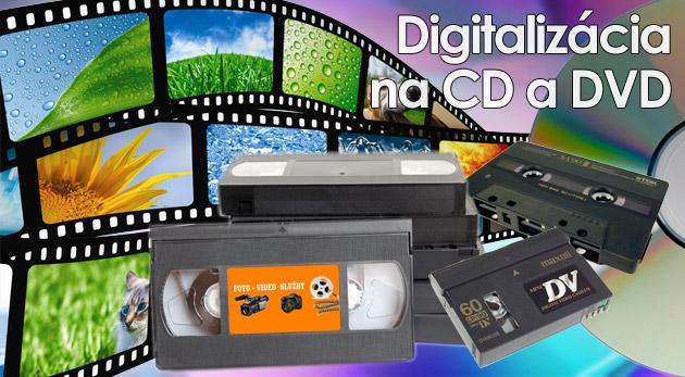 Fotka zľavy: Uchovajte si svoje spomienky a zážitky v digitálnej podobe už od 4,60€! Profesionálny prepis z kaziet VHS, VHS-c, Mini DV na kvalitné DVD nosiče alebo digitalizácia fotografií vo Foto-digitál štúdiu.