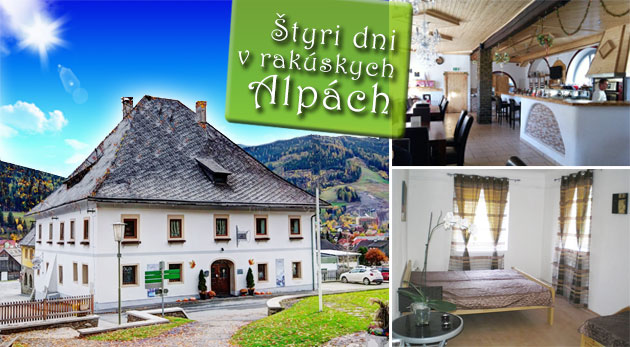 Fotka zľavy: 4-dňová turistika či relax v lone rakúskych Álp v Gasthof Kreischberg s raňajkami za 119€. Vychutnajte si očarujúce prostredie vo dvojici!