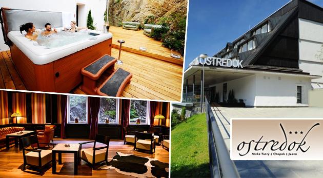 Fotka zľavy: Hotel Ostredok*** - prázdninujte počas horúceho leta v krásnej prírode Demänovskej doliny už od 145€! Vyberte si z pobytových balíkov Leto alebo Route Dereše. Dieťa do 3 rokov zadarmo!