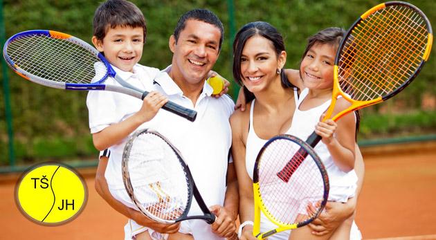 Fotka zľavy: Hodina na tenisovom kurte len za 10€. Zažite príjemný adrenalín a zdokonaľte sa v hre pod dohľadom trénera. V cene aj zapožičanie loptičiek a rakety.