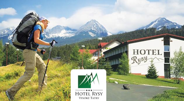 Fotka zľavy: Úžasný letný pobyt v komfortnom Hoteli Rysy*** v Tatranskej Štrbe už od 45€ pre 1 osobu. Skvelá dovolenka s polpenziou, saunou a ďalšími bonusmi! Deti do 2 rokov zadarmo.