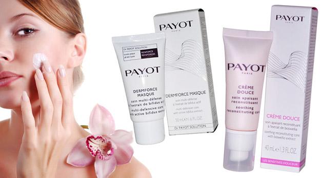 Fotka zľavy: Luxusná dámska kozmetika PAYOT len za 9,80€. Revitalizačná maska, denný krém alebo upokojujúca emulzia so zľavou až 77%!