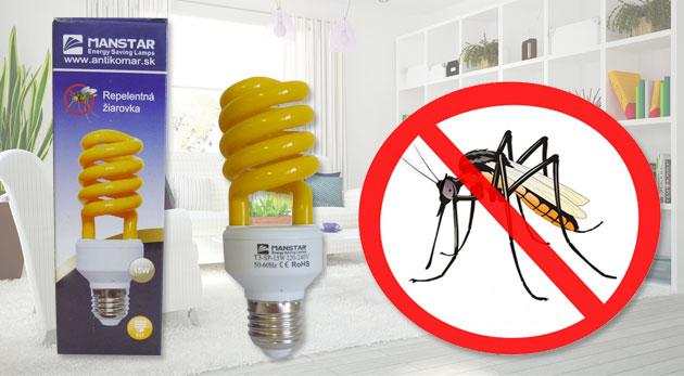 Fotka zľavy: Vyriešte raz a navždy boj s otravným hmyzom úspornou repelentnou žiarovkou už od 3,99€. Užite si letné aktivity bez nepríjemnej spoločnosti, šetrite svoje peniaze aj životné prostredie!