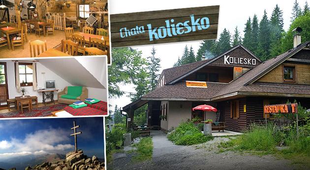 Fotka zľavy: Čarokrásne horské prostredie v Chate Koliesko pod Chopkom už od 17,50€ na osobu na deň. Chutná polpenzia, množstvo zážitkov a športových či turistických aktivít v blízkom okolí.