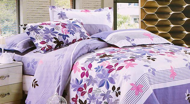 Fotka zľavy: Komfortná 7-dielna posteľná súprava z česanej priadze len za 24,90€ vrátane poštovného a balného. Zažite na vlastnej koži to, čomu sa vraví spánok ako v bavlnke!