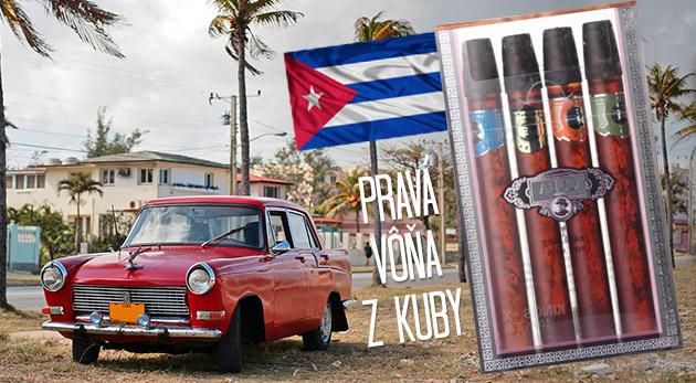 Fotka zľavy: Pánske parfumy Cuba len za 6,99€ vrátane poštovneho a balného v krásnom balení s imitáciou cigár. Luxusná sada štyroch príťažlivých vôní pre neodolateľných mužov.