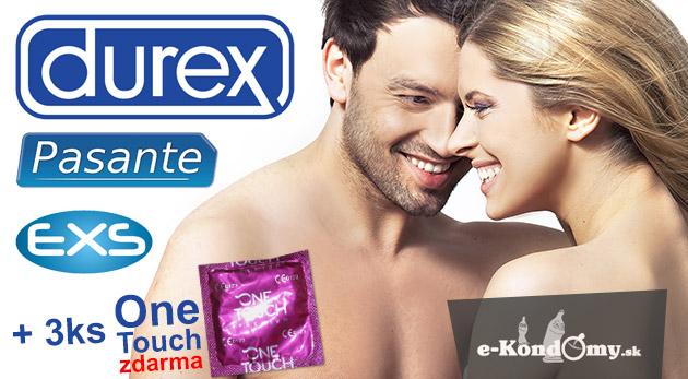Fotka zľavy: Balíček kondómov značiek Durex, Pasante či Exs podľa vášho výberu už od 14,99€ vrátane poštovného a balného. Užite si letné radovánky bezpečne a naplno!