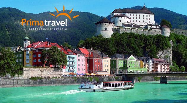 Fotka zľavy: Krásami nabitý 2-dňový zájazd do rakúskeho Tirolska. Spoznajte Swarovského krištáľové mesto Wattens či hlavné mesto Insbruck len za 119€ vrátane dopravy, ubytovania i raňajok!