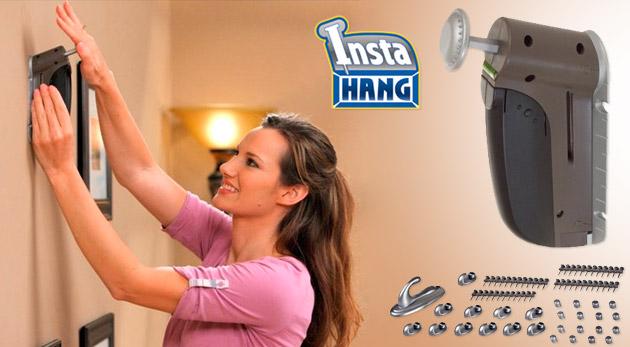 Fotka zľavy: InstaHang  - dokonalá a bezpečná pomoc pri nabíjaní klincov len za 6,49€. V balení aj zásobník, kolíky, krytky i háčiky!