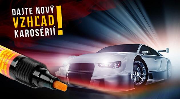 Fotka zľavy: Vodeodolné korekčné pero na opravu poškodeného laku na aute len za 1,99€. Profesionálny pomocník, ktorý šetrí čas i peniaze!