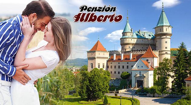 Fotka zľavy: Prázdniny neďaleko Bojnického zámku, Zoo i kúpaliska! Pozývame vás prežiť skvelé 3 dni alebo až 5 dní v Penzióne Alberto s výbornou polpenziou už od 69€.