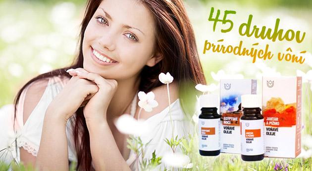 Fotka zľavy: Balík 6 ks prírodných a vonných éterických olejov len za 9,90€. Sila prírody pre vaše zdravie, pohodu, vitalitu či osvieženie!