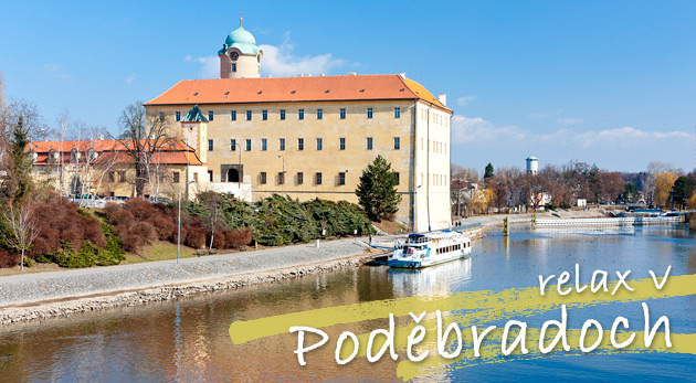 Fotka zľavy: Relax na 2 alebo 3 dni v Relaxačnom centre IRIS v Poděbradoch s raňajkami alebo polpenziou pre 2 osoby plný skvelých wellness procedúr už od 99€. Doprajte svojmu telu i psychike poriadny oddych!
