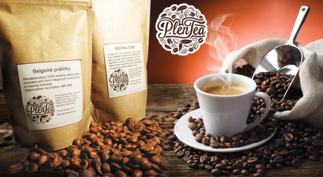 Fotka zľavy: Ochutnajte pravú kávu z plantáže už od 2,39€ so svojou špecifickou príchuťou a omamnou vôňou po zomletí. Ponúkame vám až 8 druhov káv špecifickej chute a vône.