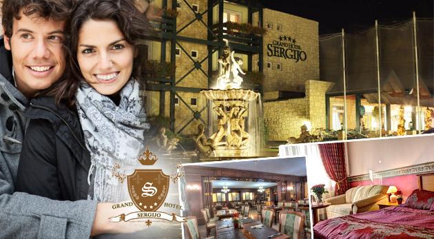 Fotka zľavy: Luxus a romantika počas 3 dní alebo jesenný oddych a relax počas 4 dní už od 119€ v GRAND BOUTIQUE HOTEL SERGIJO**** s vašou milou polovičkou.