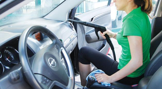 Fotka zľavy: Vyčistené a vytepované auto zvnútra len za 29€. Čistenie interiéru a tepovanie čalúnenia auta ekologicky a šetrne parou bez použitia chemických prípravkov kdekoľvek v Bratislave.