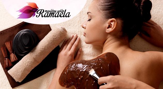Fotka zľavy: Čokoládová či soľná masáž celého tela alebo anticelulitídová masáž dolných končatín už od 7€. Doprajte si zaslúženú slasť!