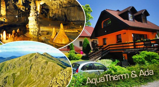 Fotka zľavy: Farebná jeseň na Liptove! Pobyt pre 2 alebo 4 osoby v nádherných apartmánoch ADA alebo v samostatných chatkách Aquatherm už od 59€! Možnosť ubytovania pre deti do 6 rokov zadarmo!
