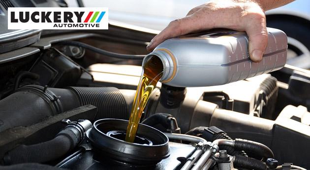 Fotka zľavy: Kvalitné služby pre vaše auto - výmena motorového oleja a servisná prehliadka v Luckery Automotive v Bratislave len za 45€. Užite si bezpečnú a bezproblémovú jazdu!