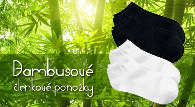 Fotka zľavy: Mäkké, teplé a bez zápachu - to sú bambusové ponožky už od 6,99€ vrátane poštovného a balného vo výhodnom 5-kusovom alebo 10-kusovom balení v ležérnej čiernej a bielej farbe pre ženy i pre mužov.