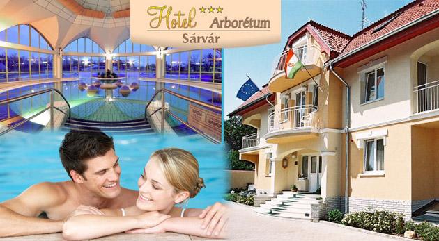 Fotka zľavy: Relaxačný pobyt pre dvojicu v maďarskom Hoteli Arborétum*** len za 87€ vrátane raňajok a vstupu do liečebných a termálnych kúpeľov. Ubytovanie hneď vedľa Arboréta a len 10 minút od Spa kúpeľov.