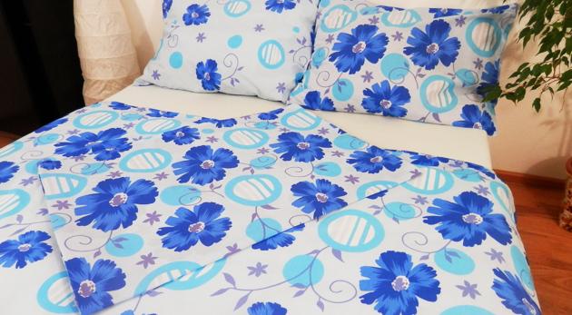 Zľava  Bavlnený set posteľnej bielizne pozostávajúci