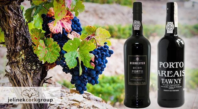 Fotka zľavy: Pravé portské víno len za 8,45€. Vyberte si zo štyroch druhov a ochutnajte výnimočnú chuť lahodného moku dozrievajúceho v dubových sudoch 3 až 6 rokov. Zažite výnimočnú chuť!