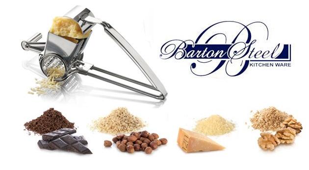 Fotka zľavy: Profesionálne kuchynské strúhadlo na strúhanie rôznych potravín len za 11,79€. Nerezová oceľ a kvalita výrobcu Barton Steel je zárukou spoľahlivosti, ktorú oceníte!
