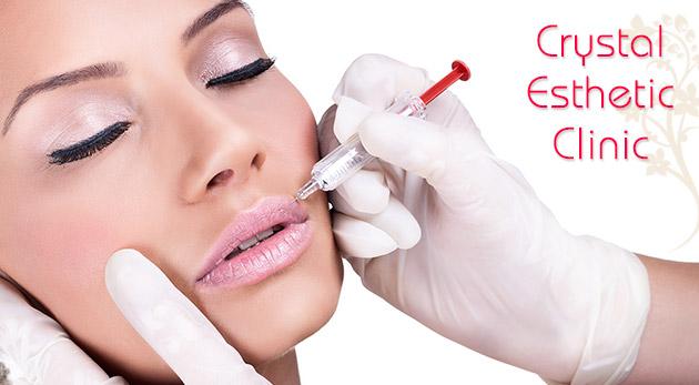 Fotka zľavy: Zbavte sa vrások v oblasti čela, glabely, očí alebo hornej pery pomocou botoxu len za 99€ v súkromnom medicínskom a kozmetickom centre Crystal Esthetic Clinic v Bratislave.