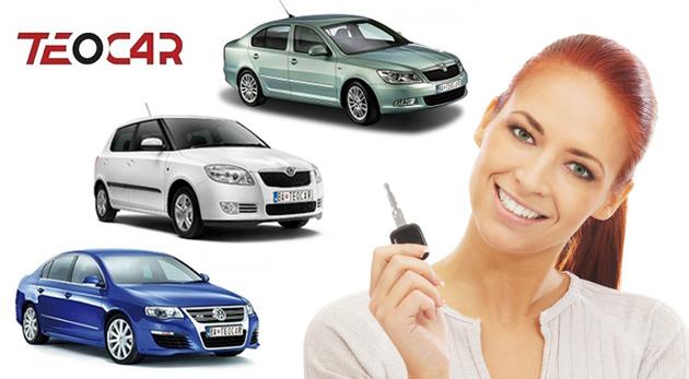 Fotka zľavy: Požičajte si Škodu Fabia, Škodu Octavia alebo VW Passat už od 17,90€ na deň a vydajte sa kamkoľvek potrebujete. V cene aj diaľničná známka pre SR, poistenie a 6. deň prenájmu ZADARMO!